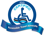 SNG Certified Accessible Travel Advocate